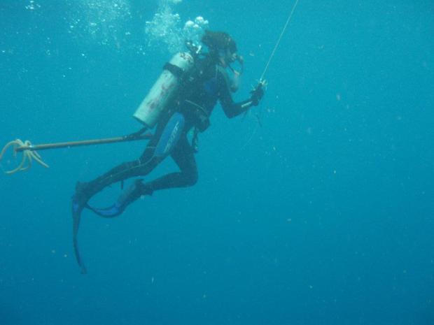 bones underwater