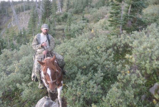 Headed up to Derby peak to glass on the first day of elk season.
